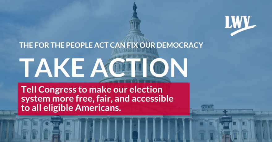 Take Action on For the People Act