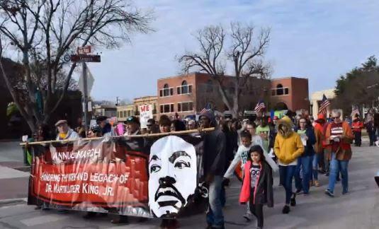 LWV Comal County at MLK parade 2020