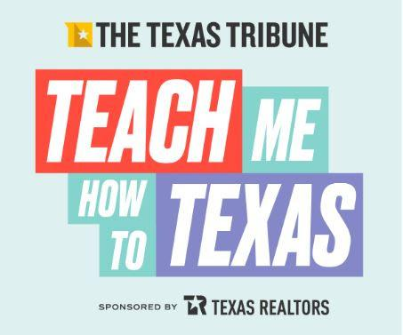 Teach me to texas graphic