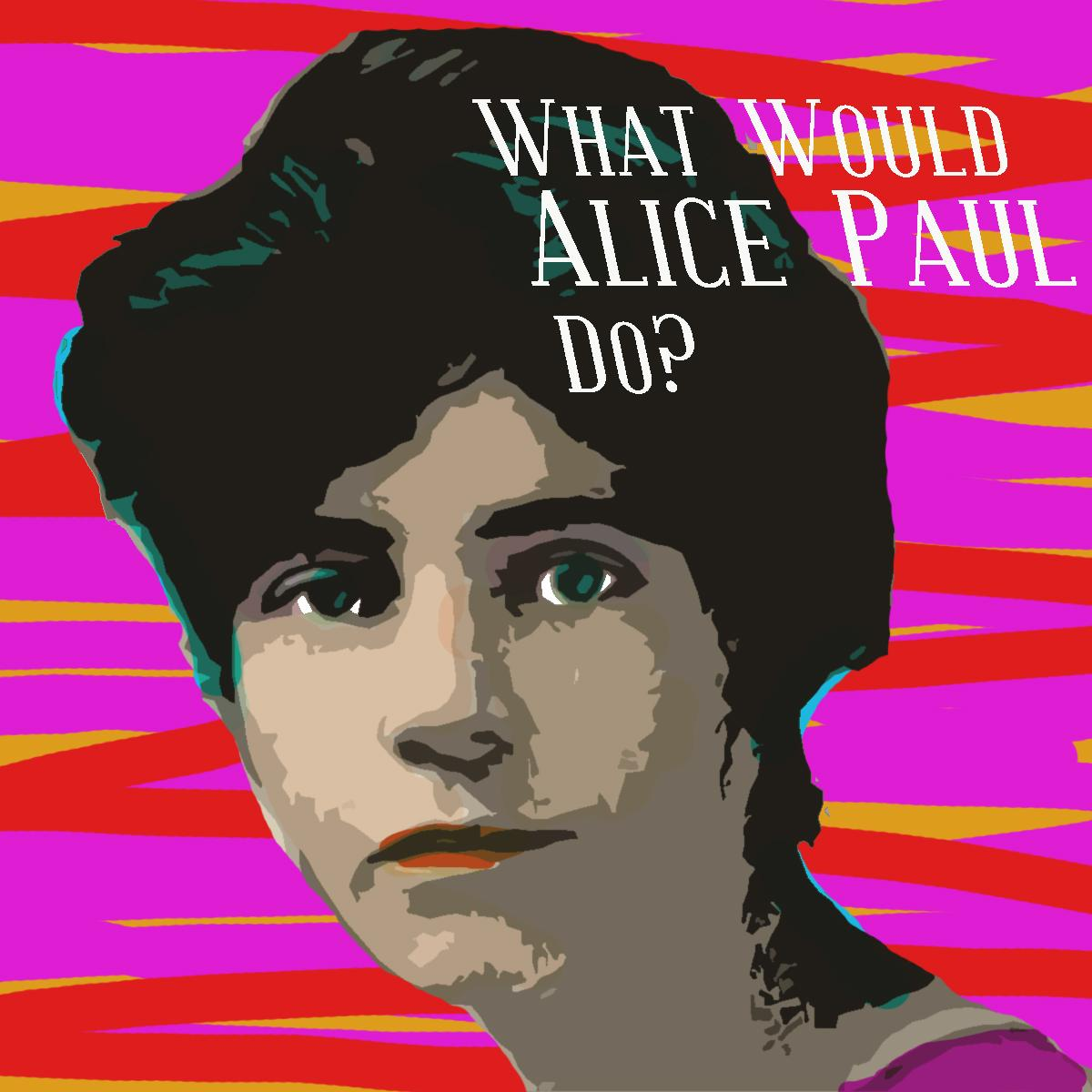 graphic of Alice Paul