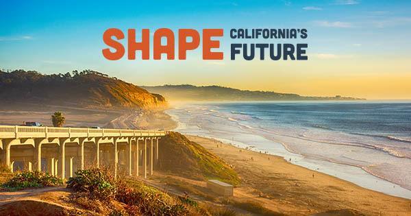 Shape California's Future logo