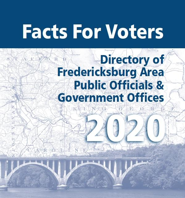 Picture of LWVFRA's 2020 Facts for Voters Cover