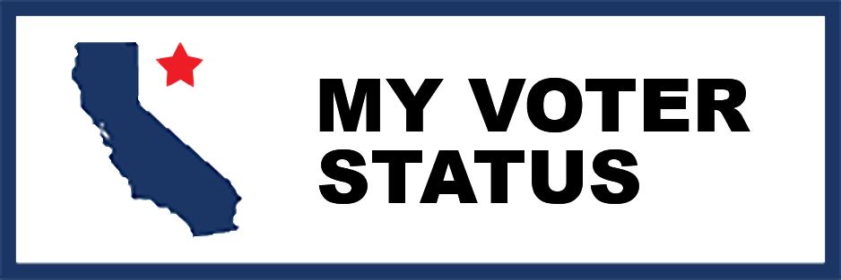 Image of My Voter Status website