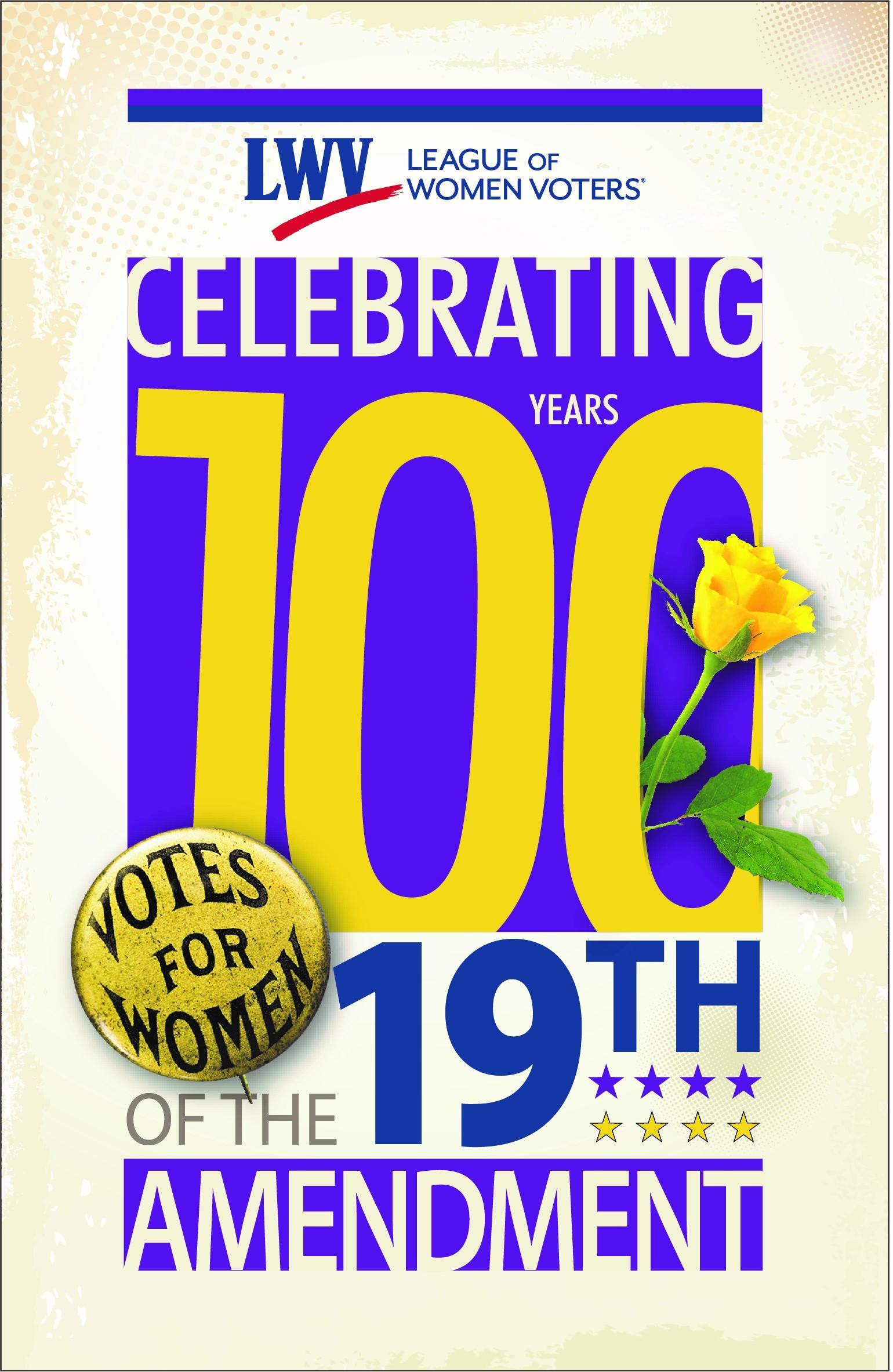 Celebrating 100 years, 19th Amendment