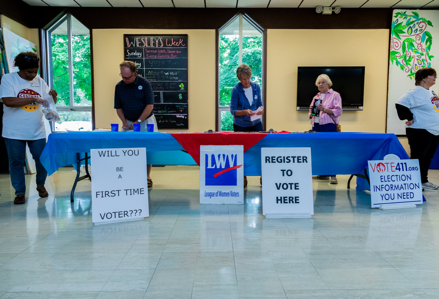 register to vote event
