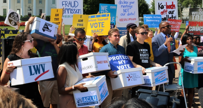 fighting voter suppression - multiple organizations