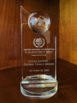 Photo of UNA Local Leaders Award