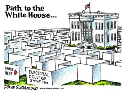 Electoral College / White House News Comic Strip