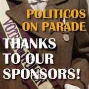 Politicos on Parade Advertisers