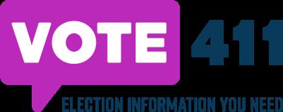 VOTE411 with tagline