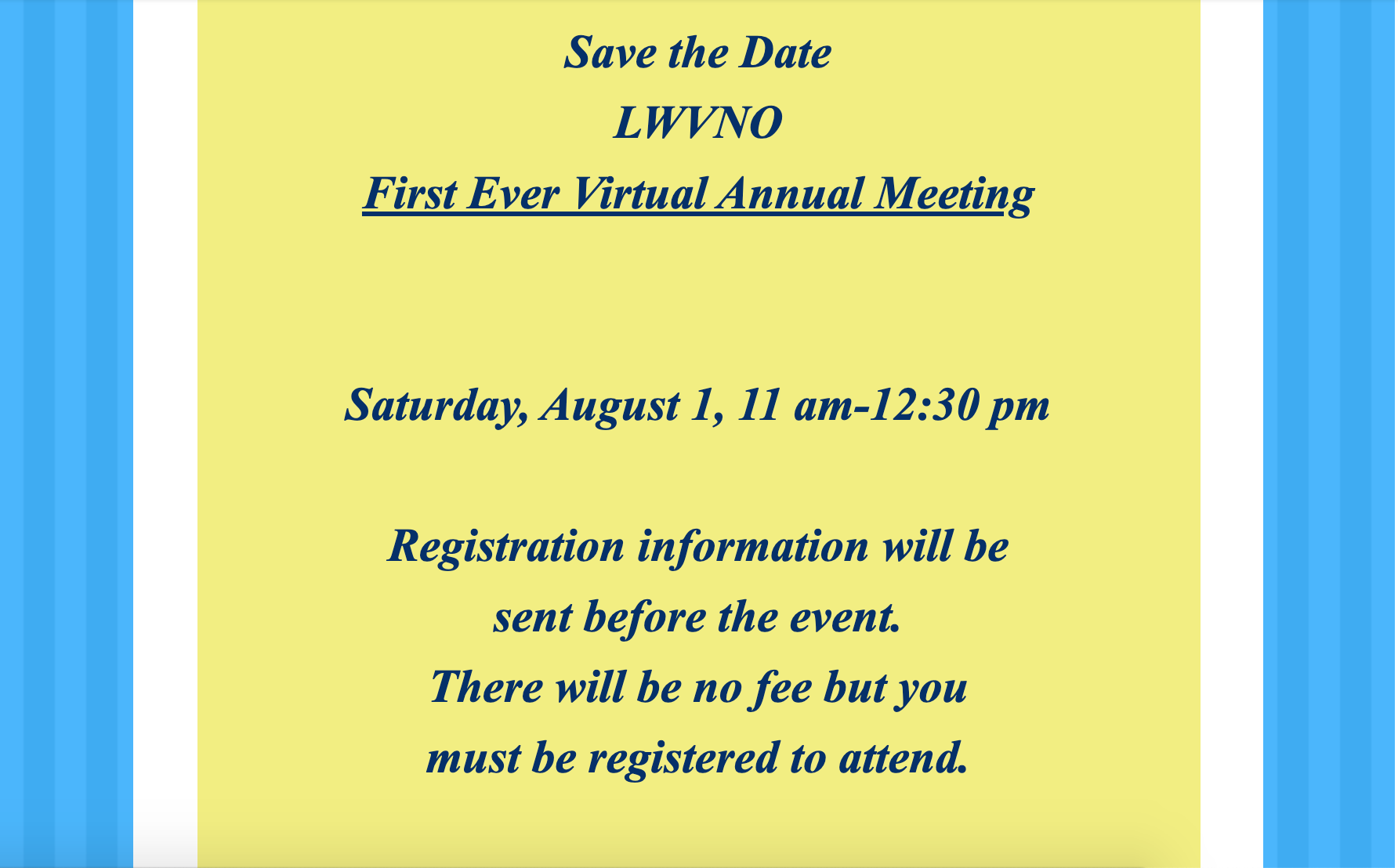2020 annual meeting invite
