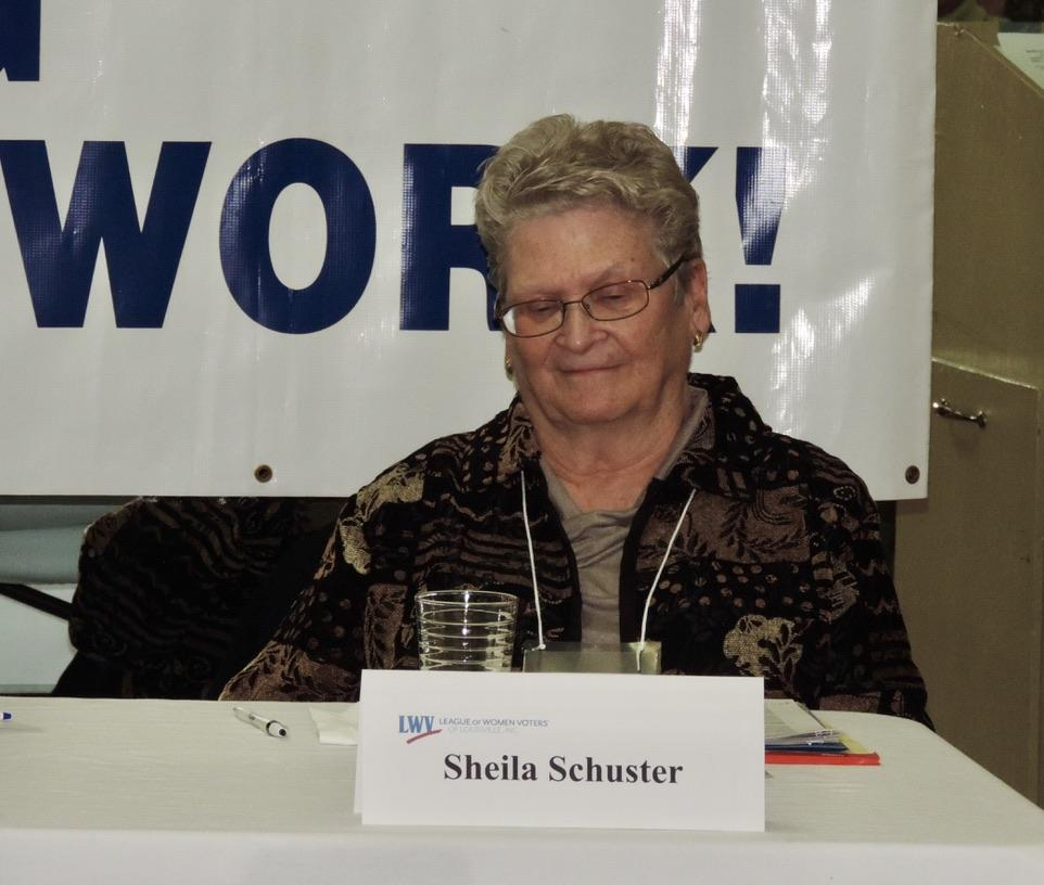 Sheila Schuster, PhD; Advocacy Action Network and LWVL Member discusses legislative initiatives that affect healthcare.