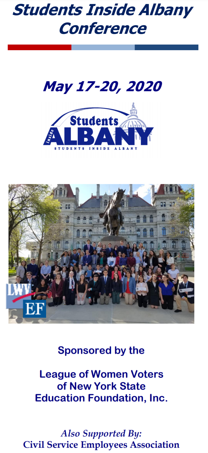 Students Inside Albany Conference