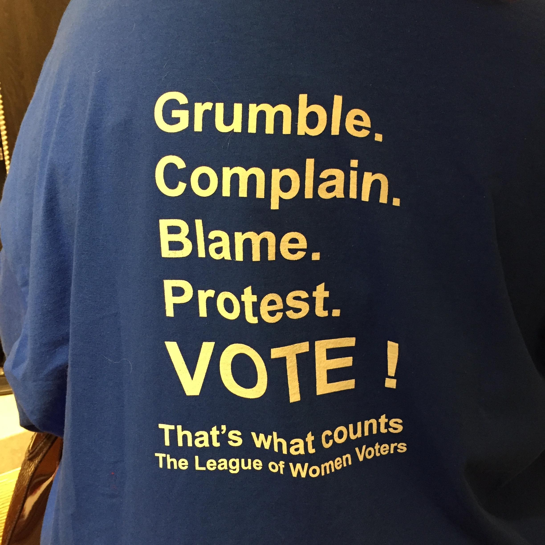 Tee shirt of blame