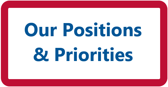 'Our Positions & Priorities' button