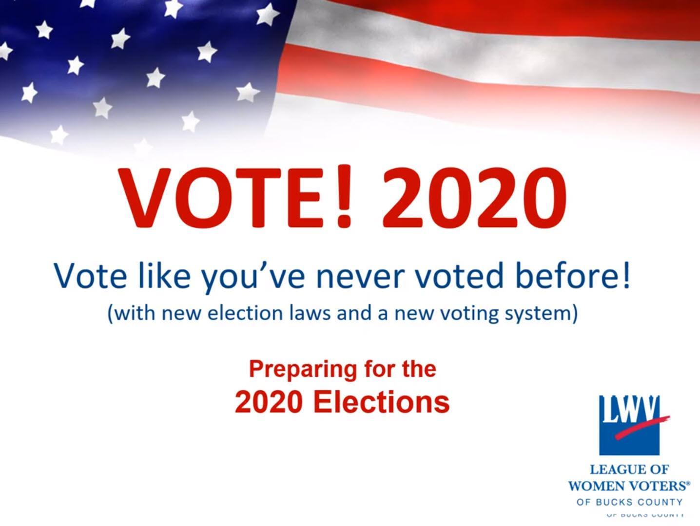 Vote 2020 !!