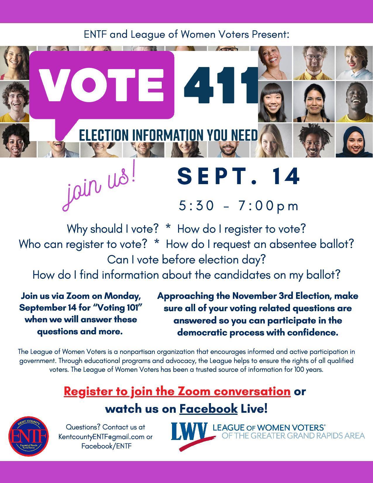 VOTE411 Poster