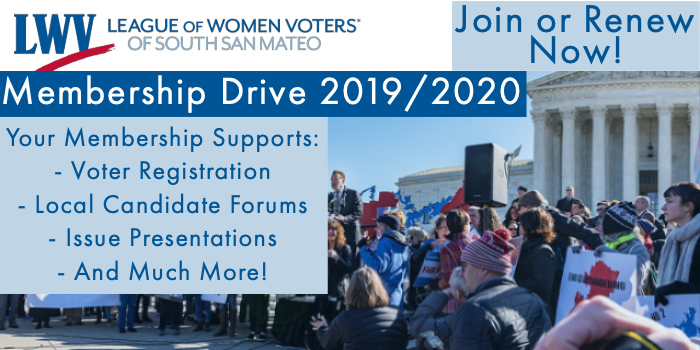 2019/2020 Membership Drive - Join or Renew Today!