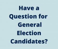 Submit questions for candidates here