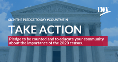 Sign the Pledge to say Count Me In