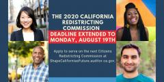 Citizens Redistricting Commission, California, gerrymandering,