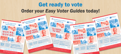 Easy Voter Guide, ballot measures, new voters, elections, cavotes, California, June 5 election, League of Women Voters of California Education Fund