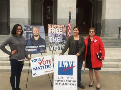 ACA6, freethevote, voting rights, California, elections, formerly incarcerated
