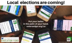 voters edge, california, elections, local, ballot look up, voting CAelections, voter guides, los angeles