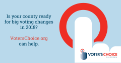 Voter's Choice California website launch