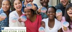 Get out the vote, voters, voting, California, voter's edge
