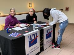 DuSable Museum voter registration on Juneteenth 2019