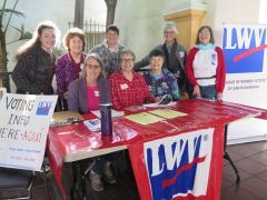 LWVSB Voter Registration Event