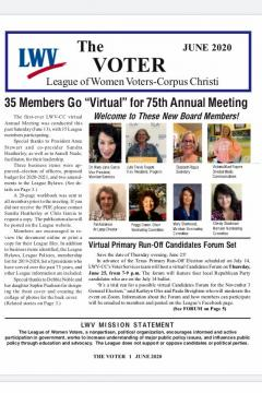 Cover of June Voter