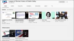 Image of LWVDV YouTube channel