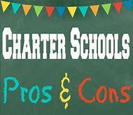 charter school pro con graphic