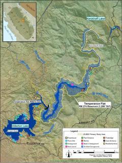 Temperance Flat Dam Project