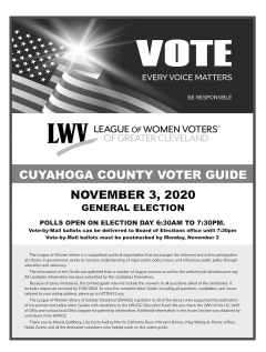 LWVGC 2020 Voter Guide