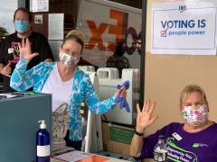 LWVHC Voter Registration in Hilo - 201002