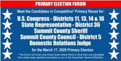 primary candidates forum