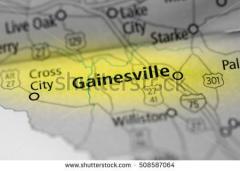 Gainesville Alachua map