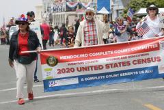 LWV Mendocino July 4 parade Census