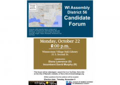 WI Assembly District 56 Candidate Forum