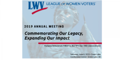 LWV Annual Meeting
