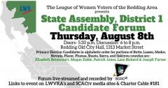 State Assemby District 1 Forum