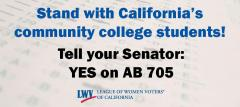 Community College Advocacy Yes on AB 705