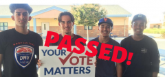 Take action and expand same day voter reg locations, cavotes, voting, elections, California