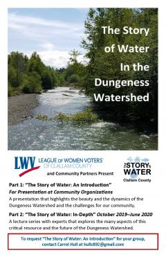 Story of Water Brochure