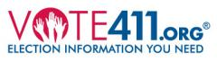 logo for Vote411.org