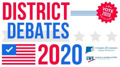 LWV Southeastern CT Candidate Debate House District 42 flyer