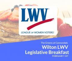 Wilton League of Women Voters Legislative Breakfast Image